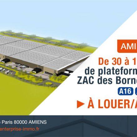 Une plateforme XXL dernière génération à Amiens !