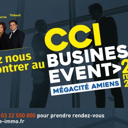 Nous serons au salon CCI Business Event !