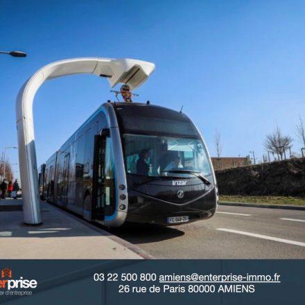 Amiens inaugure son BHNS : Némo, son réseau de lignes de bus électriques