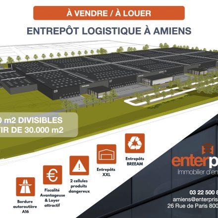 ELCIMAÏ va réaliser une plateforme logistique XXL de dernière génération à Amiens